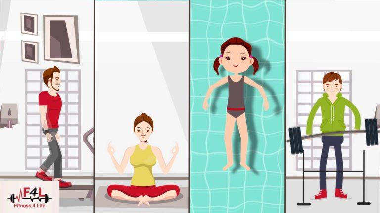 Fitness4Life Gym Animation