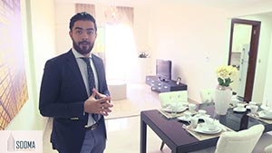 A Private Tour of the 2 Bedroom Apartment in Al Fouad| Interview Video