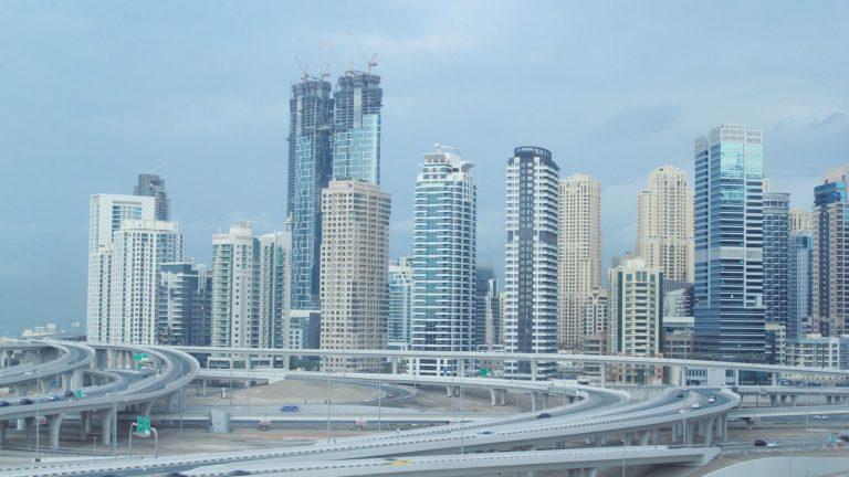 Dubai November Rain – Time-lapse