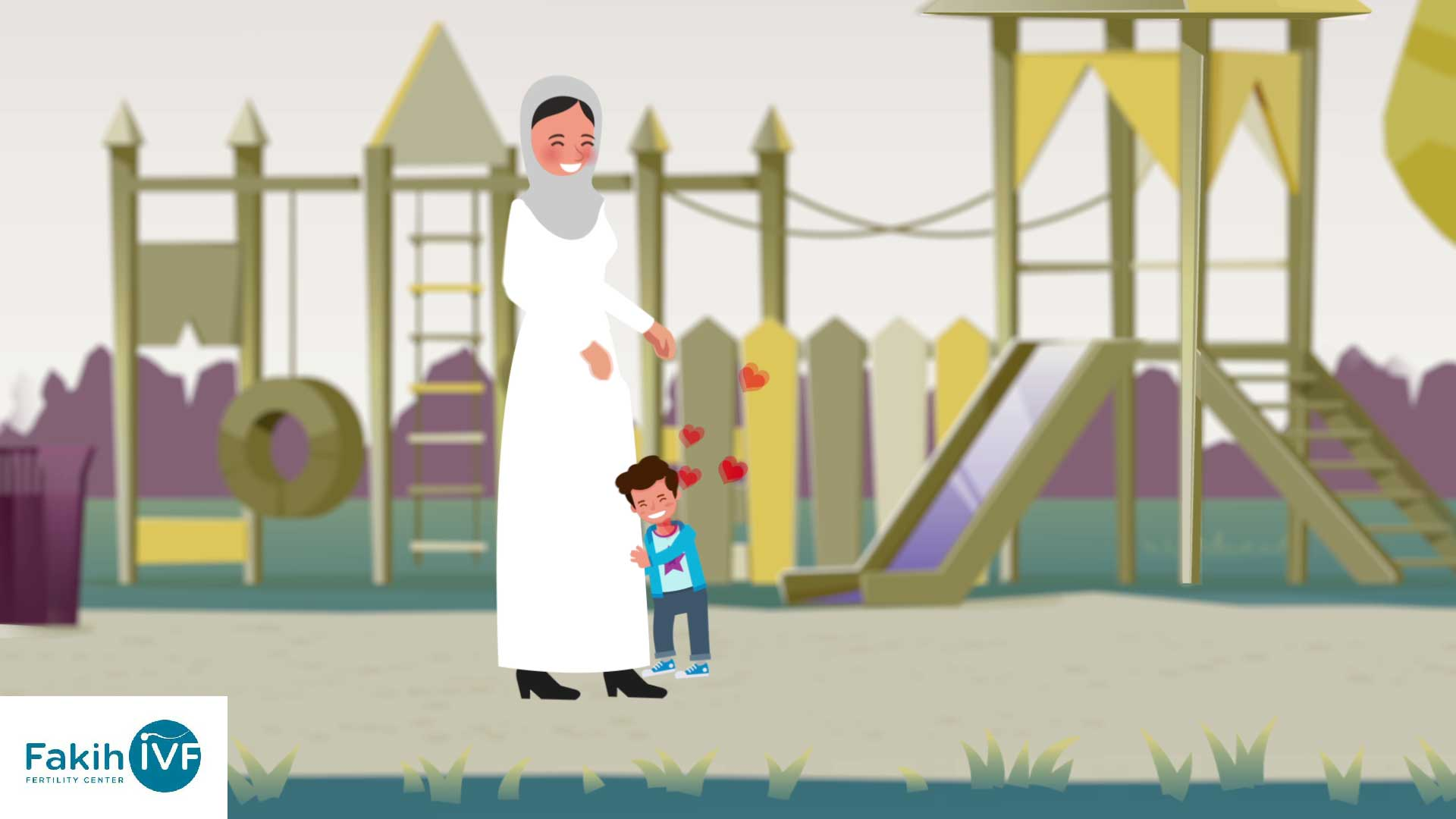 Animation Video for Fakih IVF Fertility Center