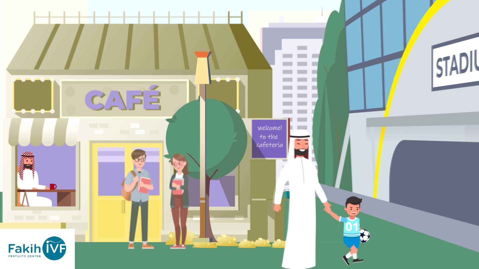 Animation Video for Fakih IVF Fertility Center