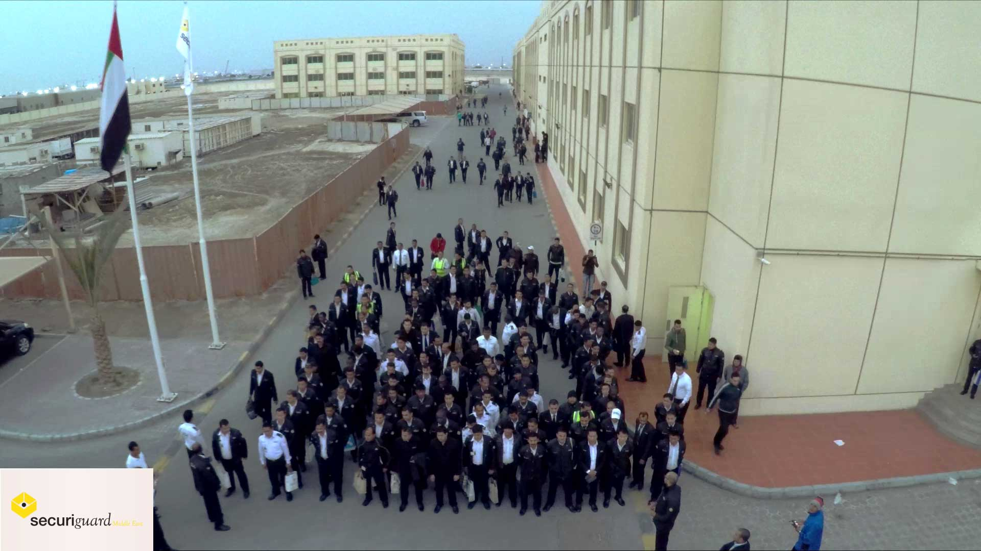 Securiguard Middle East corporate video Abu Dhabi