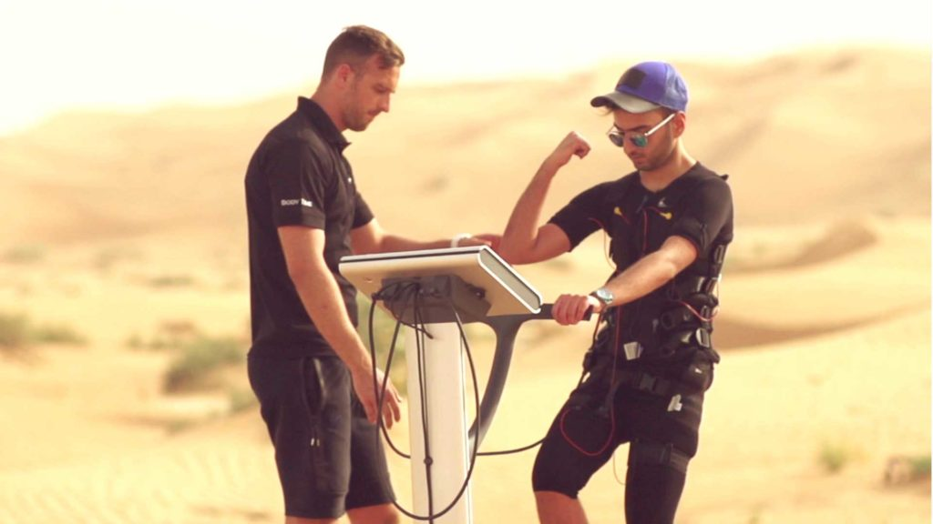 Body Time - Suit up for the Fastest fitness results, now in the UAE