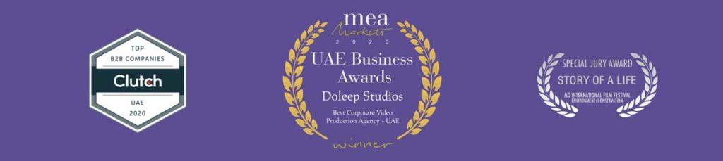 UAE's Best Corporate Video Production Agency - 2020 MEA Markets Awards 3 | Best Corporate Video Production Agency