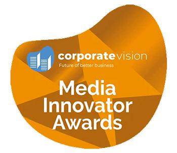 Media Innovator Awards - Best Corporate Video Production Agency 2021 - UAE 1 | Award-Wining Video Production COmpany